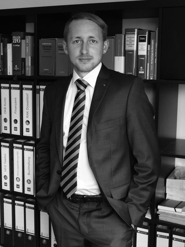 Rechtsanwalt Lukas Wintersohl - Ihr Anwalt im Bergischen Land -